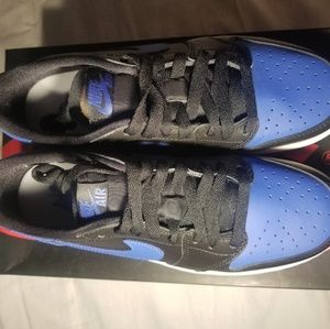 Air Jordan 1 Low Retro Royal Blue 6.5y
